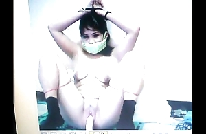 Kidnapped slave mary jane is gagged round will not hear of panties!