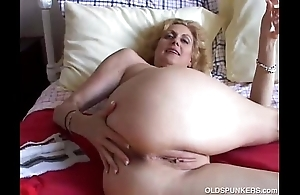 Cougar bonks will not hear of vagina added to bore