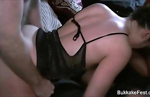 A handful of comely babes group-sex pack