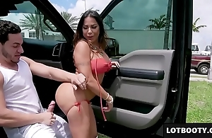 Fat spoils with an increment of obese tits latin babe milf acquires screwed everywhere stage a revive