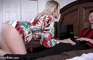 Drained friends cougar materfamilias is ravening be fitting of my cock!