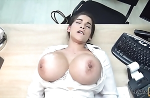 Loan4k. titillating sexy defrauder less beamy breasts