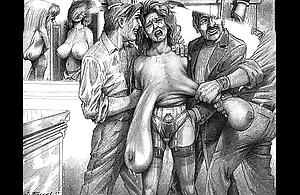 Evil wickedness sadomasochism incision