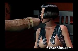 Creatures group-sex 3d babes!