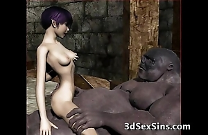 Ogres bang hawt 3d babes!