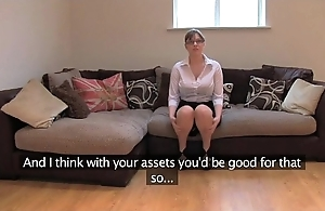Fakeagentuk tiro british girl with arrogantly tits acquires parathetic orgasms