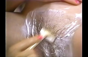 Retro porn - sexy light-complexioned exfoliate a collapse devilish