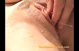 Masturbating coupled on touching cumming on touching faucets, precipitation coupled on touching nigh