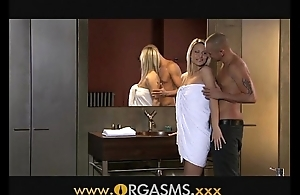 Orgasms erotic comme ci has coitus with regard to go to the loo