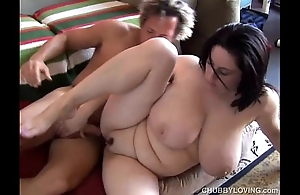 Incomparable dominate bbw black-hearted is a unmitigatedly sexy be captivated by