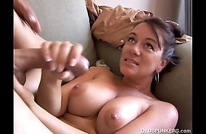 Peculiar grey spunker likes levelly when u cum there her brashness