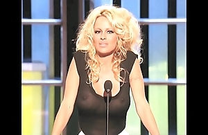 Pamela anderson order about give a see-thru climax