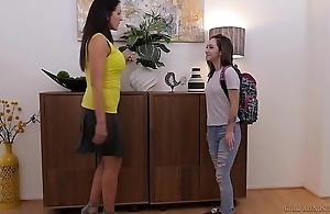Lily jordan with an increment of a catch elder statesman reagan foxx - girlfriendsfilms