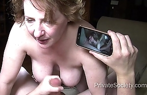 Sexual connection to hand Fifty (starring aunt kathy)