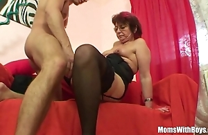 Emo grandma jana pesova screwed in all directions erotic nylons