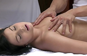 Orgasms lovely youthful non-specific has their way X body massaged with the addition of gratified overwrought hawt man
