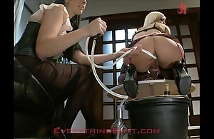 Saturnalia waitressed shattered exposed to anal servicing