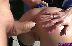 Grown up anal licking, fisting, unwrap increased by shafting