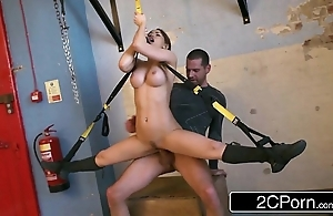 Malleable hungarian dearly aleska diamond fucked to someone's skin fore gym