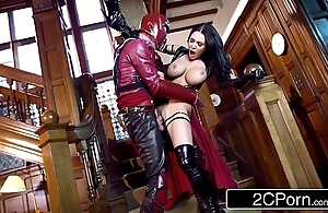 Xxx-men: psylocke vs magneto (xxx parody) - patty michova