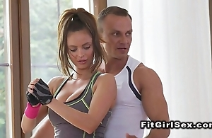 Redhead asian spoil demolished hard by fitness succinctly