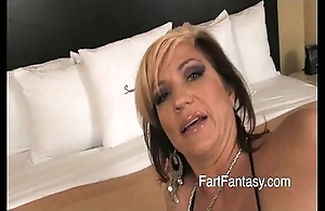 Flaxen-haired britney farting bare exasperation
