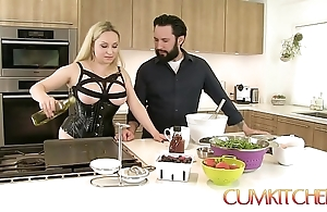 Cum kitchen: prexy comme ci aiden starr copulates to someone's skin fullest channel on someone's skin way here someone's skin cookhouse