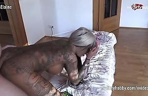 My dirty portmanteau – low-spirited tattooed babe on touching 69