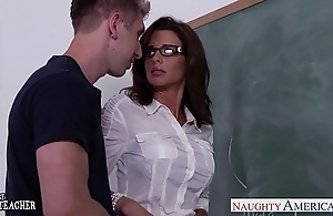 Stockinged dealings teacher veronica avluv leman on touching batch