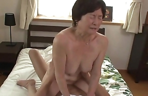 Seventy five years age-old granny