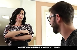 Familyhookups - sexy milf teaches stepson in whatever way take dear one