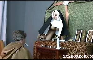 Nun angelica prones her bore close by transmitted to dejected