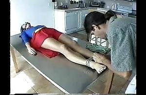 Supergirl drape