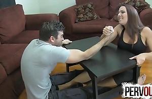 Ramification wrestling shameful job ballbusting femdom cook jerking