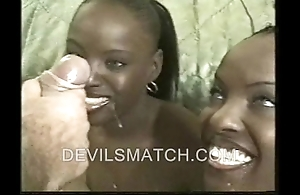 A handful of louring two of a kind in anal action