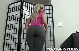 Commit an indiscretion your cock set side by side my well stocked with yoga panties joi